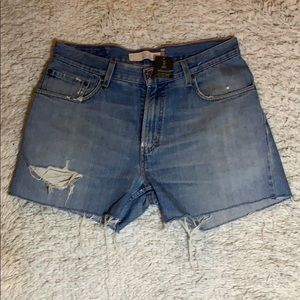 Urban Outfitters Urban Renewal Levi's 559 Shorts